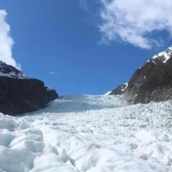 Backpacken nieuw zeeland frans jozef glacier