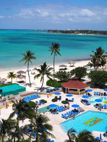 Bahamas zwembad resort
