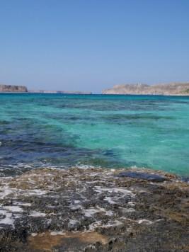 Balos beach in Kreta