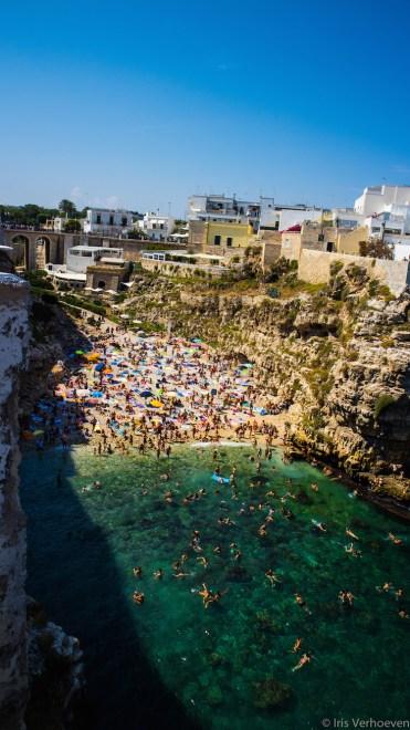 Bari-italie-strand-druk