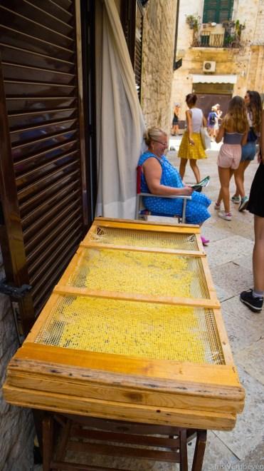 Bari pasta op straat
