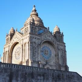 Basilica de Santa Luzia noord portugal