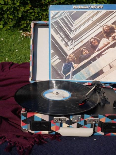 Beatles crosley cruiser