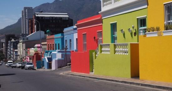 Bo Kaap kaapstad straten zuid afrika