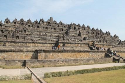 Borobudur Java hoogtepunt