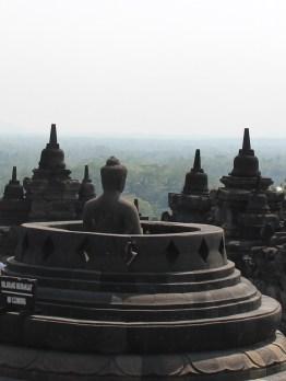 Borobudur uitzicht java