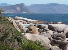 Boulders beach uitzicht