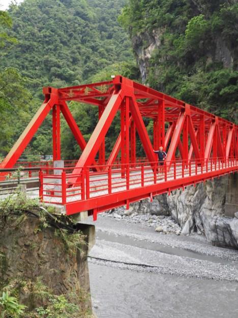 Bruggen in Taroko National Park
