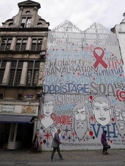 Brussel streetart centrum