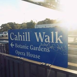 Cahill walk sydney