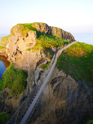 Carrick-a-Rede touwbrug ierland