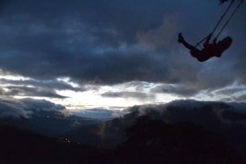 Casa del Arbol ecuador zonsondergang