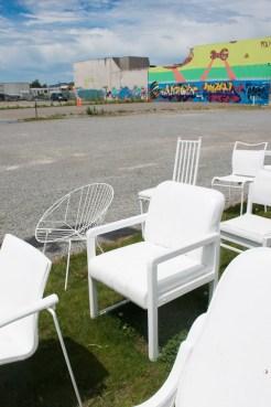 Christchurch Nieuw Zeeland 185 White Chairs-2