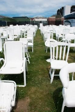 Christchurch Nieuw Zeeland 185 White Chairs