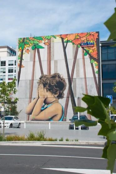 Christchurch Nieuw Zeeland streetart