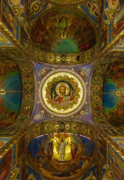 Church of our savior on spilled blood details st petersburg