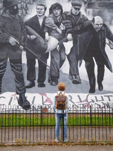Derry murals Bloody sunday