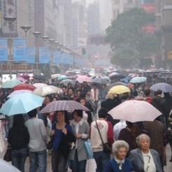 Drukte in Shanghai