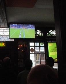 rugby kjken in pub
