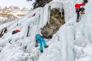 Eispark ijsklimmen in tirol