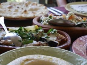 Eten bij Sufra amman