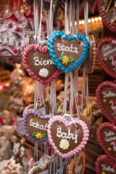 Frankfurt cookies op de kerstmarkt