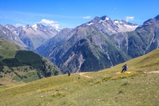 Franse Alpen mountainbiken