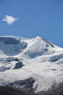Gletsjer in west canada