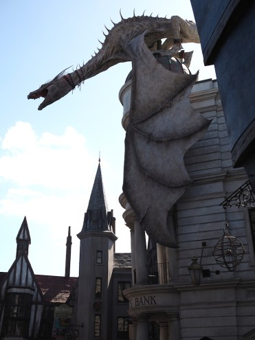 Harry Potter World draak