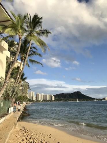 Hawaii waikiki beach strand