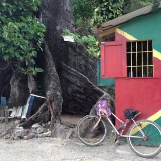 Huisjes langs het strand jamaica negril
