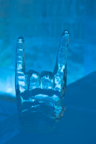 Ice Bar sculptuur