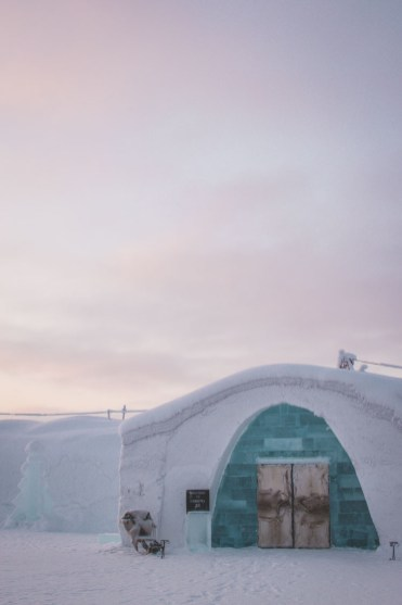 Ice Hotel Sweden toegang
