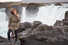 Ijsland waterval godafoss akureyri
