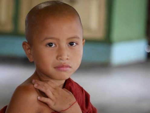 Inle Meer tempel monnik