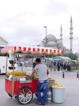 Istanbul galatabrug omgeving