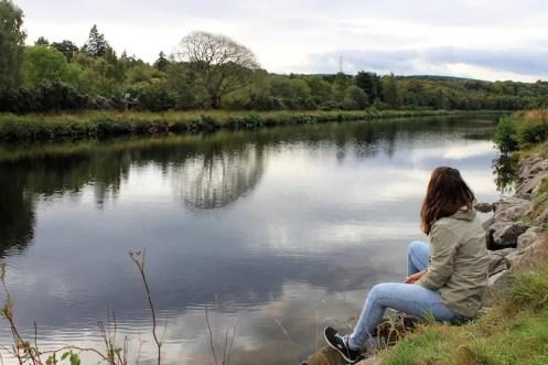 Iverness schotland uitzicht rivier