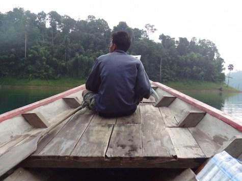 Khao Sok boot safari