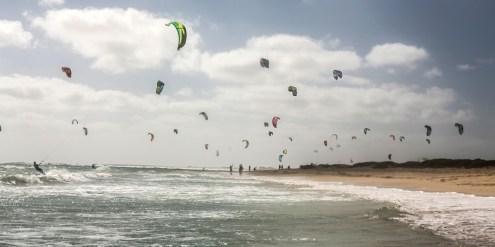 Kitesurfen Sal kite beach Marleen hoftIjzer