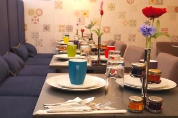 La Parizienne Hotel het Ontbijt