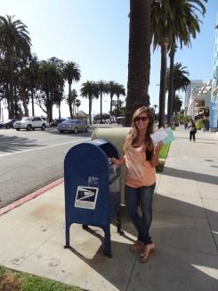Los Angeles kaart versturen