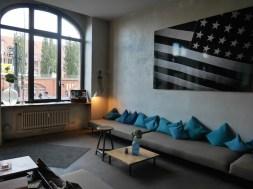 Lounge michel berger hotel in berlijn
