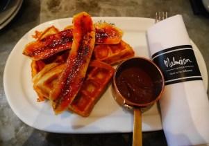 Malmaison wafel ontbijt belfast