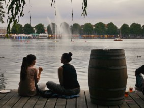 Maschsee festival in Hannover
