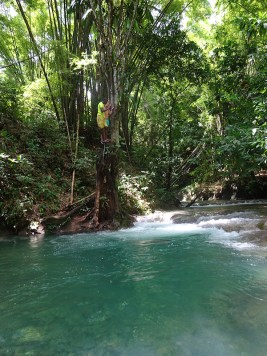 Mayfield Falls Jamaica watervallen