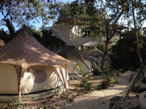 Mexico Tulum Harmony Glamping out