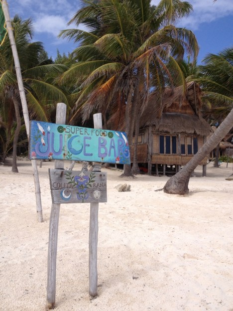 Mexico Tulum juicebar