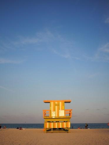 Miami Ocean drive strand