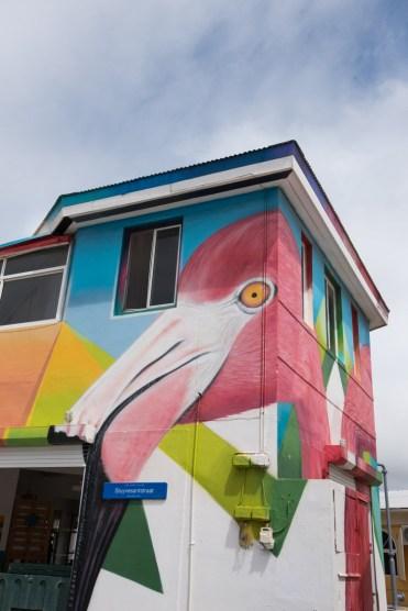 Mooiste stranden Baby Beach san nicolas streetart