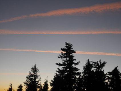 Mount Hood Oregon lucht